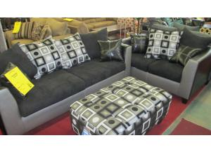 Shimmer Steel Sofa and Love was $799.00  Now $599.00